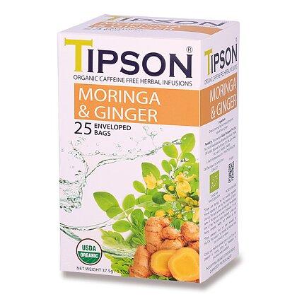 Obrázek produktu Tipson - bylinný čaj - BIO Moringa & Ginger
