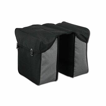 Obrázek produktu ENY - dvoukomorová polyesterová cyklistická taška na nosič, černá
