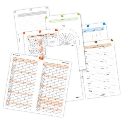 Obrázek produktu ADK - sada pro týdenní plánování základní 2022 – A6
