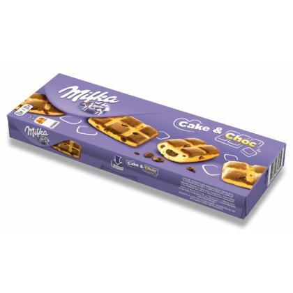 Obrázok produktu Milka Cake a Choc - jemné pečivo s kúskami čokolády - 5 x 35 g