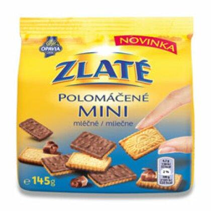 Obrázek produktu Opavia Zlaté - polomáčené sušenky - mini, mléčné, 145 g