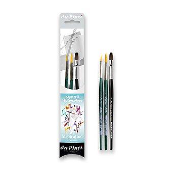Obrázek produktu Sada akvarelových štětců da Vinci Inspiration - 3 kusy