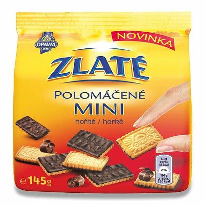 Obrázek produktu Opavia Zlaté - polomáčené sušenky - mini, hořké, 145 g