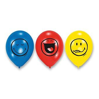 Obrázek produktu Balónky Smiley - 6 ks