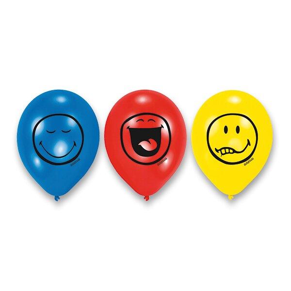 Balónky Smiley 6 ks