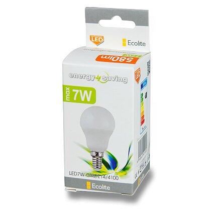 Obrázek produktu Ecolite LED - žárovka - E14, 7 W, sv. tok 630 lm