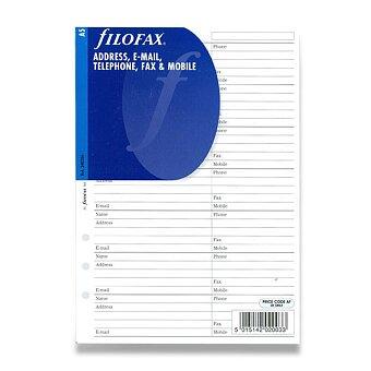 Obrázek produktu Adresář - náplň A5 k diářům Filofax