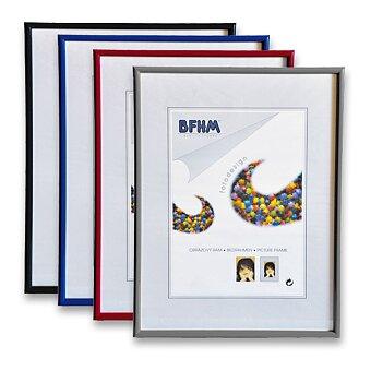 Obrázek produktu Plastový obrazový rám BFHM - A4, 21 x 29,7 cm, výběr barev