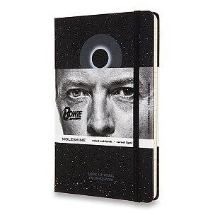 Zápisník Moleskine David Bowie - tvrdé desky