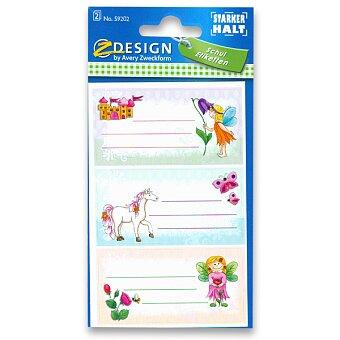 Obrázek produktu Samolepicí štítky na sešity - Víly