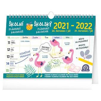 Obrázek produktu Školní plánovací kalendář - srpen 2021 - červenec 2022