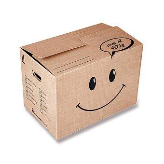 Obrázek produktu Kvalitní krabice vhodná na stěhování - 2x zesílené dno, nosnost 40 kg