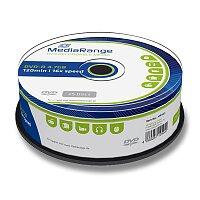 Zapisovatelné DVD MediaRange DVD-R