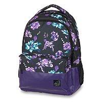 Školní batoh Walker Chap Classic Flower Violet