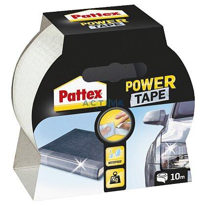 Obrázek produktu Pattex Power Tape - třívrstvá samolepicí páska - 50 mm × 10 m, transparentní