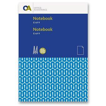 Obrázek produktu Záznamní kniha OA - A4, 100 listů, bez linek
