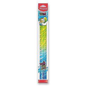 Obrázek produktu Pravítko Twint´n Flex duhové - 30 cm, mix barev