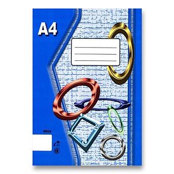 Obrázek produktu Školní sešit EKO 420 - A4, čistý, 20 listů