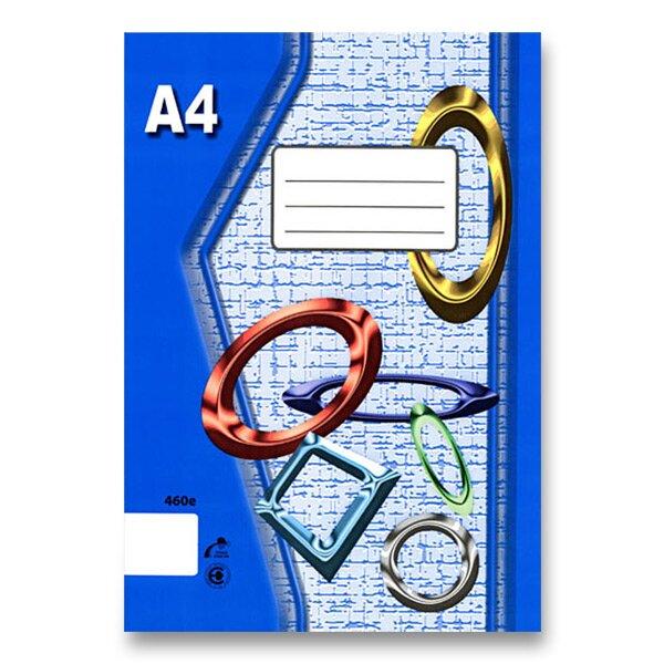 Školní sešit EKO 420 A4, čistý, 20 listů