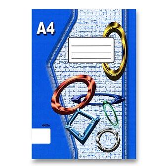 Obrázek produktu Školní sešit EKO 440 - A4, čistý, 40 listů
