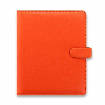 Obrázek produktu Diář A5 Filofax Saffiano - oranžový