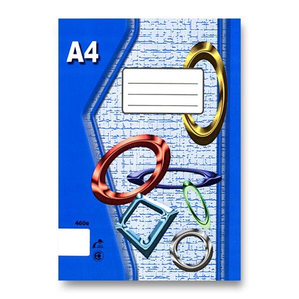 Školní sešit EKO 460 A4, čistý, 60 listů