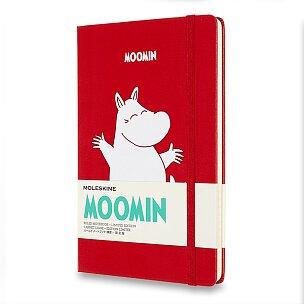 Zápisník Moleskine Moomin