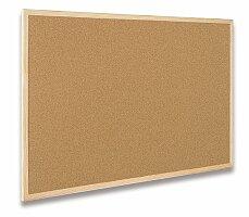 Korková tabule v dřevěném rámu Bi-Office