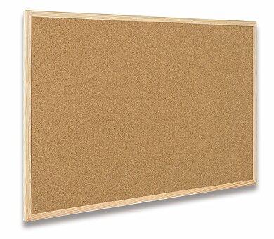 Obrázek produktu Korková tabule v dřevěném rámu Bi-Office - 40 x 30 cm