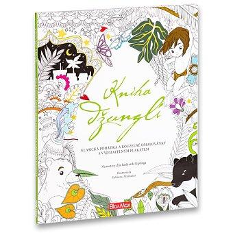 Obrázek produktu Pohádkové omalovánky Kniha džunglí - 215 x 260 mm, 80 stran + plakát