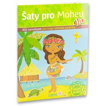 Obrázek produktu Šaty pro Moheu - samolepková knížka s 300 samolepkami