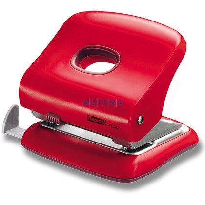 Obrázek produktu Rapid FC30 - děrovačka - na 30 listů, červená