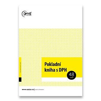 Obrázek produktu Pokladní kniha s DPH Optys 1011 - A4, 48 listů