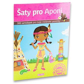 Samolepková knížka Aponi