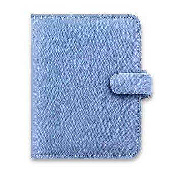 Obrázek produktu Kapesní diář Filofax Saffiano A7 - modrý