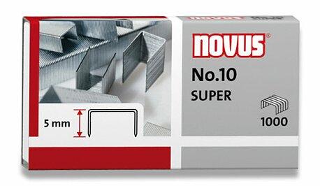 Obrázek produktu Drátky do sešívaček Novus No.10 - 1000 ks
