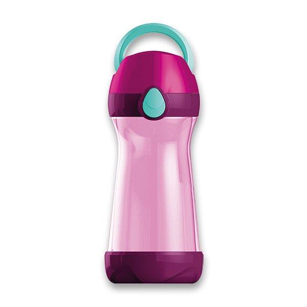 Lahev na nápoje Maped Picnik Concept růžová, 0,43 l