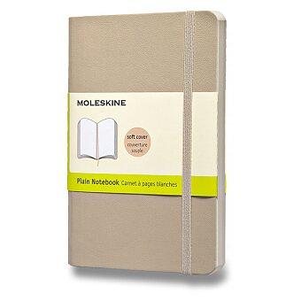 Obrázek produktu Zápisník Moleskine - měkké desky - S, čistý, béžový