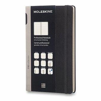 Obrázek produktu Zápisník Moleskine Professional - tvrdé desky - L, černý, číslované strany