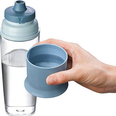 Víčko z lahve je možné použít i jako pohárek