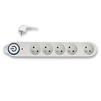 Product image Solight PO54 - power surge protector - 5 sockets, 1.5 m