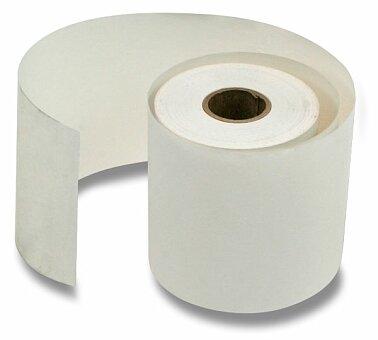 Obrázek produktu Jednovrstvý pokladní kotouček - šířka 76 mm, kotouček 70 mm, dutinka 12 mm
