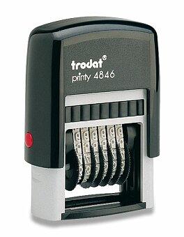 Obrázek produktu Samobarvící číslovací razítko Trodat 4846 - černý tisk