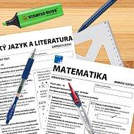Psací potřeby k přijímacím zkouškám na střední školu