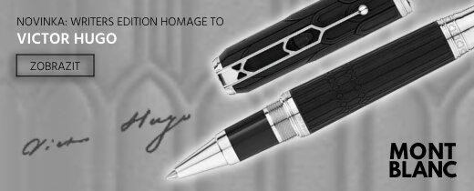 Montblanc limitovaná edice Writers edition Homage to Victor Hugo