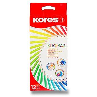 Obrázek produktu Pastelky Kores Kromas - 12 barev