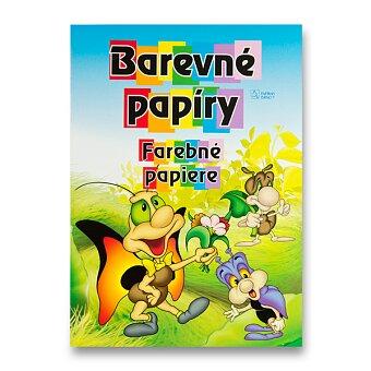 Obrázek produktu Barevný papír A4 - 20 listů