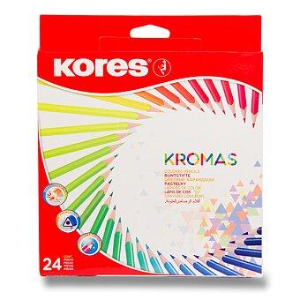 Obrázek produktu Pastelky Kores Kromas - 24 barev
