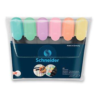 Obrázek produktu Zvýrazňovač Schneider Job Pastel - sada 6 barev