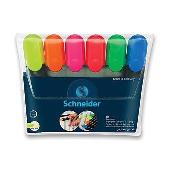 Obrázek produktu Zvýrazňovač Schneider Job - sada 6 barev